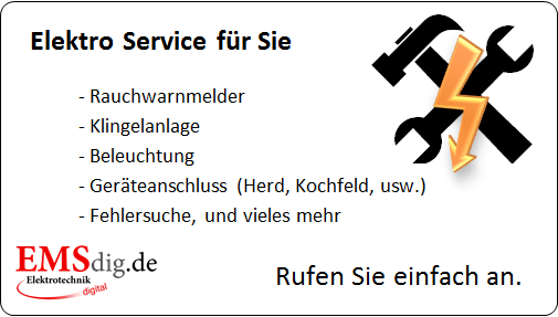 Elektro Service von EMSdig.de